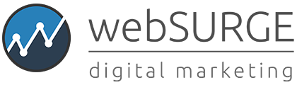 webSURGE Digital Marketing dark text logo