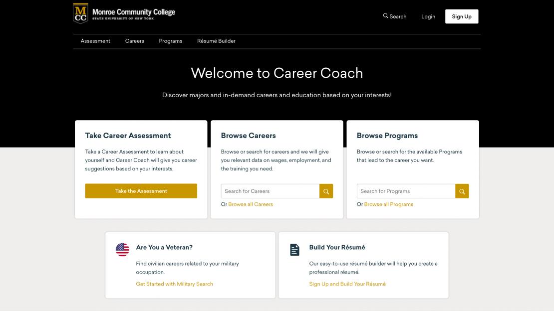 MCC Career Coach